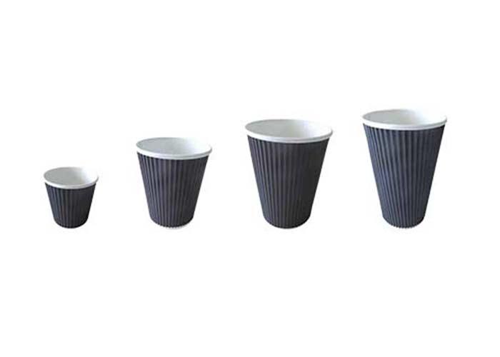 Bicchiere-cartone-nero-ondulato-forniture-horeca